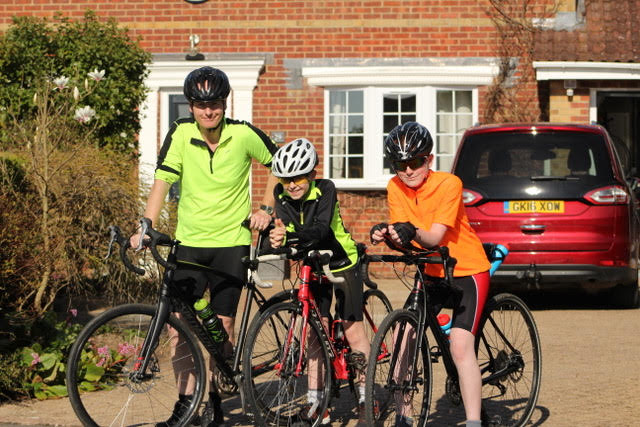Perkins Brothers Sponsored 100 Mile Bike Ride for Nepal School
